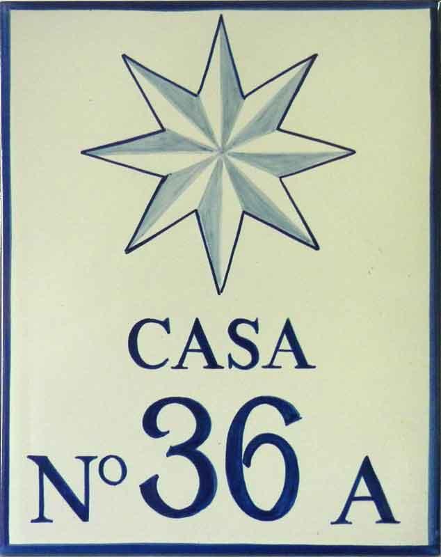 Número de casa Ref-025