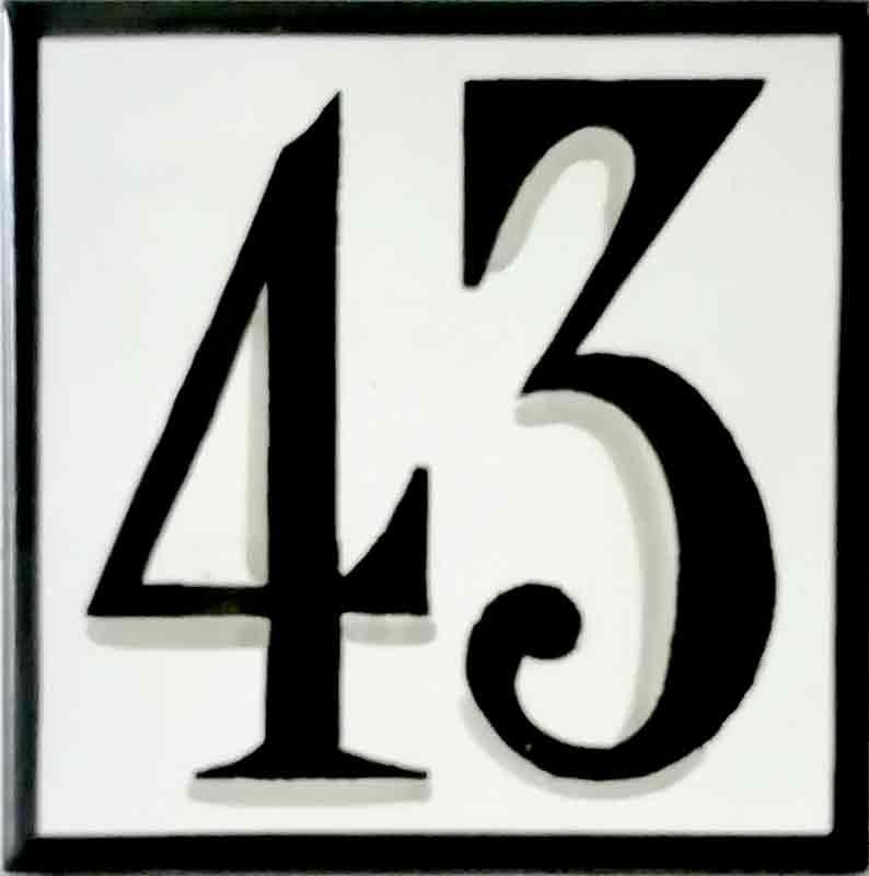 Número de casa Ref-035