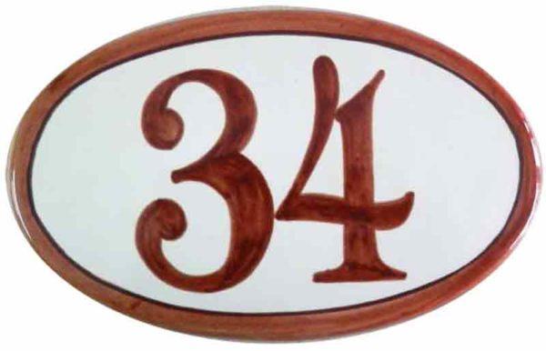 Número de casa personalizado