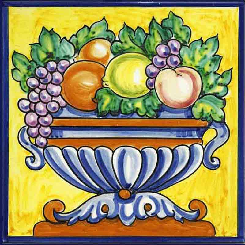 Azulejos sevillanos artesanos pintados a mano - Cerámicas Artesur - Reproducciones antiguas - 5