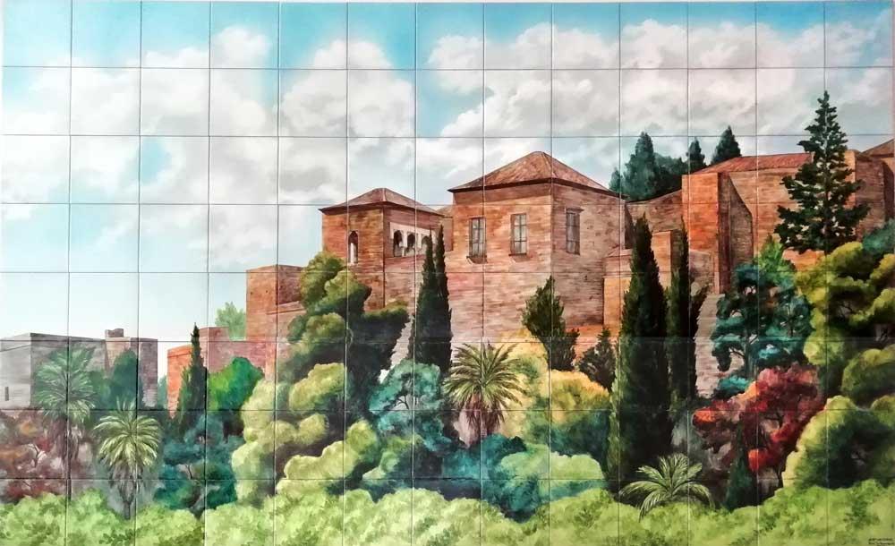Azulejos sevillanos artesanos pintados a mano - Cerámicas Artesur - Paisajes - 8