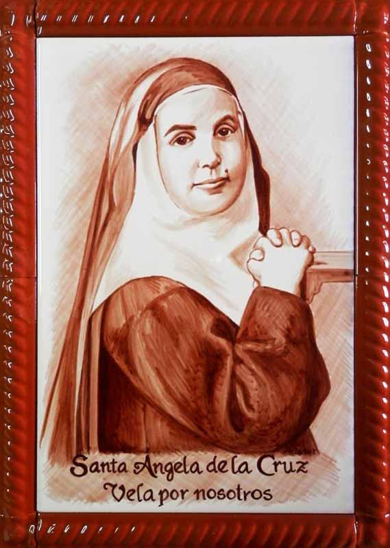 Santa Ángela de la Cruz niña