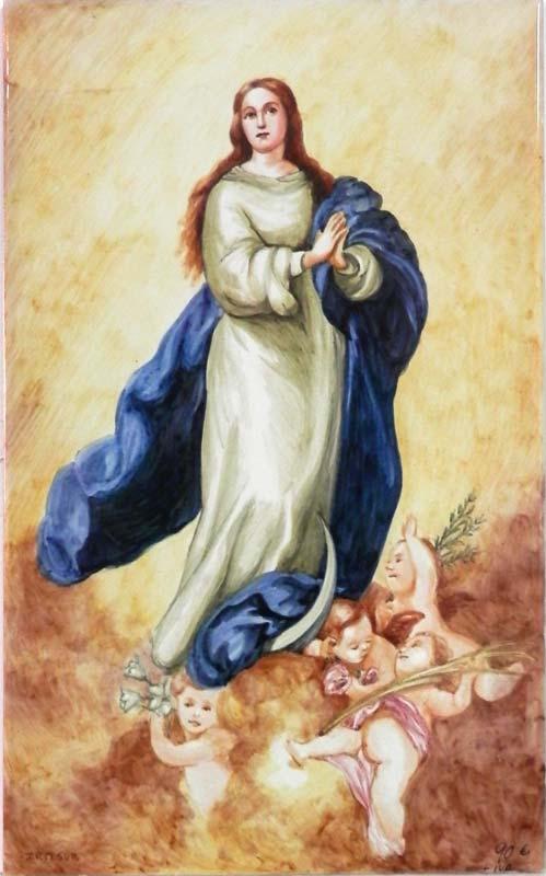 Inmaculada de Murillo en color