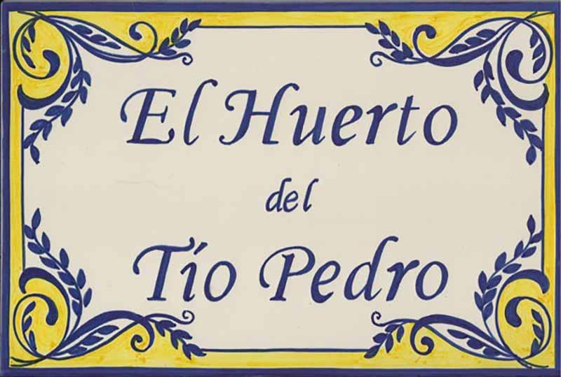 Azulejos artesanos pintados a mano en el estilo sevillano - Artesur - Azulejos para casas - Tío Pedro color - 604