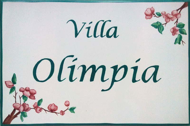 Azulejos artesanos pintados a mano en el estilo sevillano - Artesur - Azulejos para casas - Villa Olimpia - 611