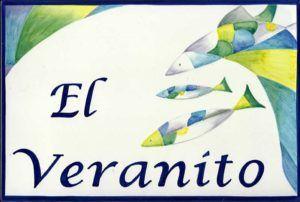 Azulejos artesanos pintados a mano en el estilo sevillano - Artesur - Azulejos para casas - El veranito - 617