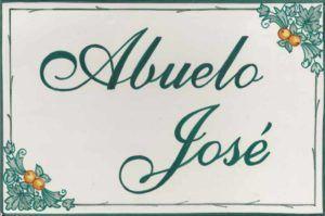 Azulejos artesanos pintados a mano en el estilo sevillano - Artesur - Azulejos para casas - Abuelo José - 620