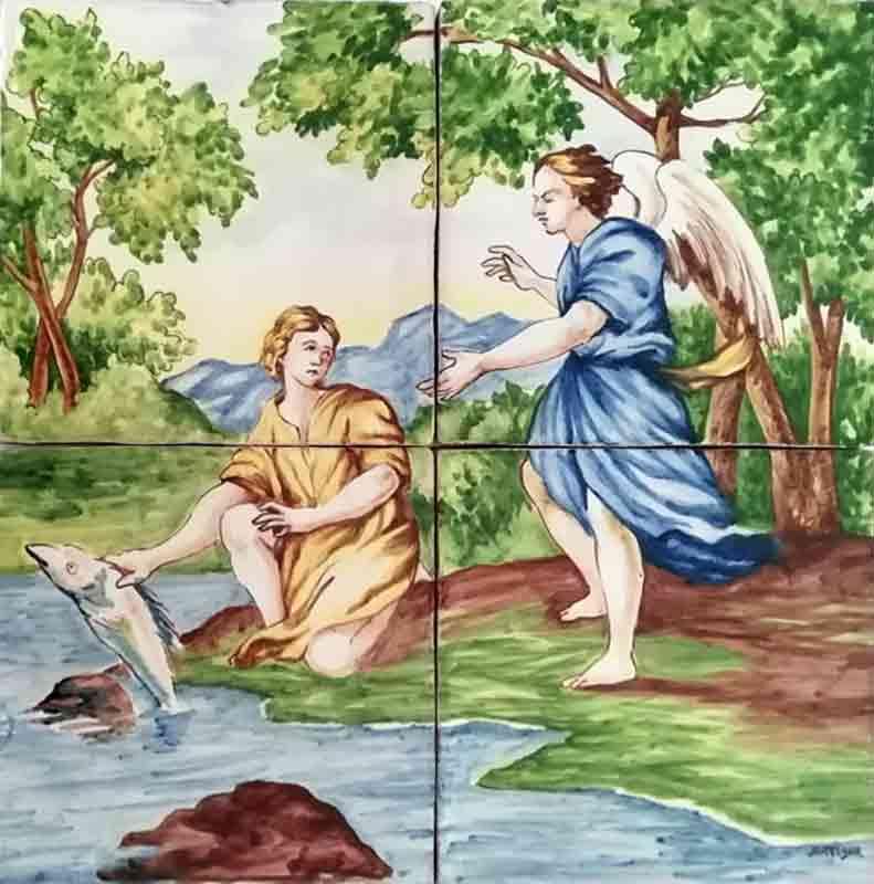 Azulejos sevillanos artesanos pintados a mano - Cerámicas Artesur - Reproducciones antiguas - 6