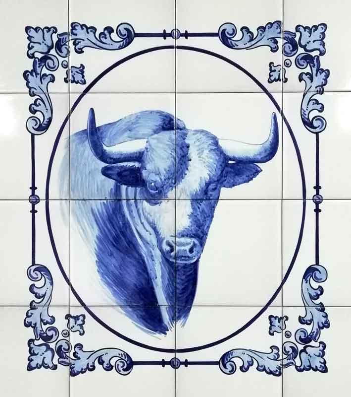 Azulejos sevillanos artesanos pintados a mano - Cerámicas Artesur - Animales - 11