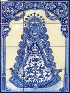 Azulejos sevillanos artesanos pintados a mano - Cerámicas Artesur