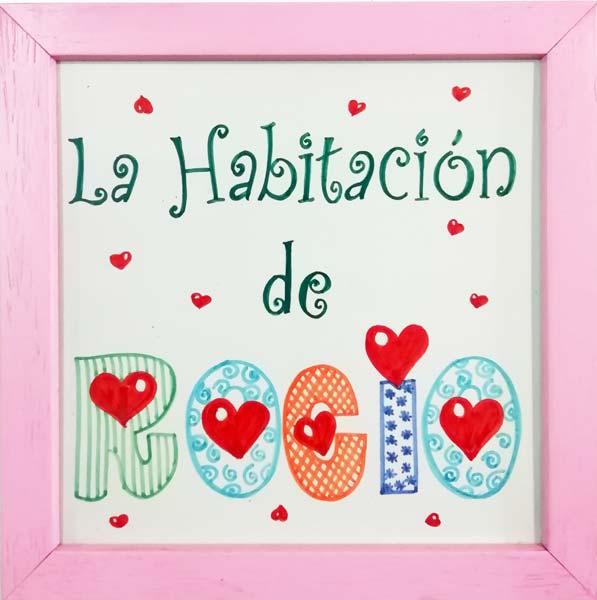 Azulejo pintado a mano - Cerámicas Artesur - Habitación infantil - niña