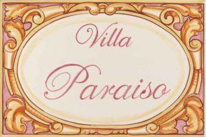 Azulejos artesanos pintados a mano en el estilo sevillano - Artesur - Azulejos para casas - Villa paraiso - 601-A