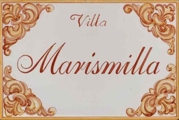 Azulejos artesanos pintados a mano en el estilo sevillano - Artesur - Azulejos para casas - La Marismilla 607