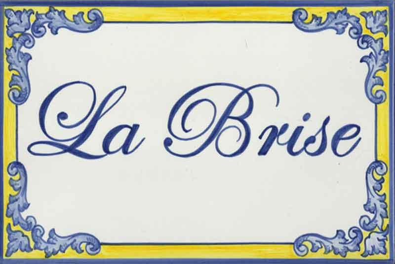 Azulejos artesanos pintados a mano en el estilo sevillano - Artesur - Azulejos para casas - La Brise - 610
