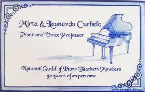 Azulejos artesanos pintados a mano en el estilo sevillano - Artesur - Azulejos para casas - Azul con piano - 613