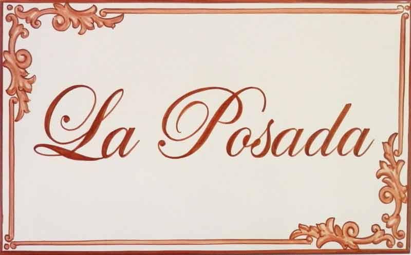Azulejos artesanos pintados a mano en el estilo sevillano - Artesur - Azulejos para casas - La Posada - 614