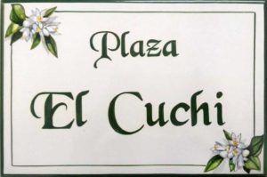 Azulejos artesanos pintados a mano en el estilo sevillano - Artesur - Azulejos para casas - El Cuchi - 618-A