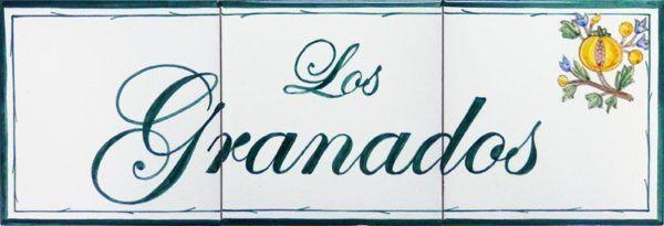 Azulejos artesanos pintados a mano en el estilo sevillano - Artesur - Azulejos para casas - Los Granados - 621