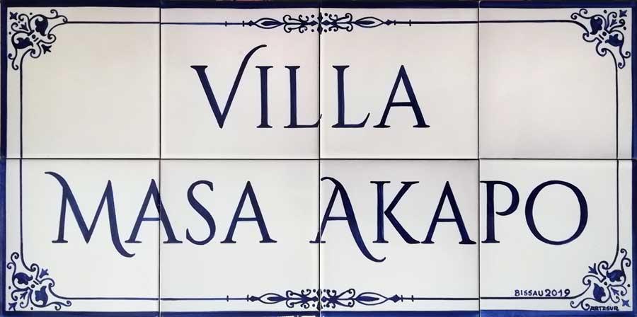 Azulejos artesanos pintados a mano en el estilo sevillano - Artesur - Azulejos para casas - Masa Akapo - 625