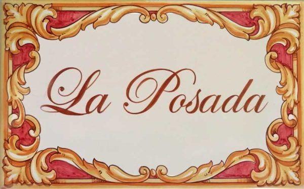 Azulejos artesanos pintados a mano en el estilo sevillano - Artesur - Azulejos para casas - La Posada Barroco - 629