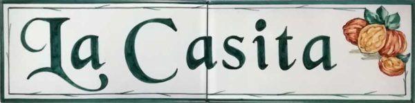 Azulejos artesanos pintados a mano en el estilo sevillano - Artesur - Azulejos para casas - La Casita - 633