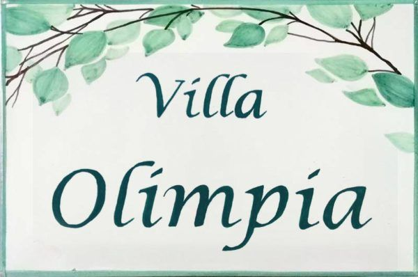 Azulejos artesanos pintados a mano en el estilo sevillano - Artesur - Azulejos para casas - Villa Olimpia - 634