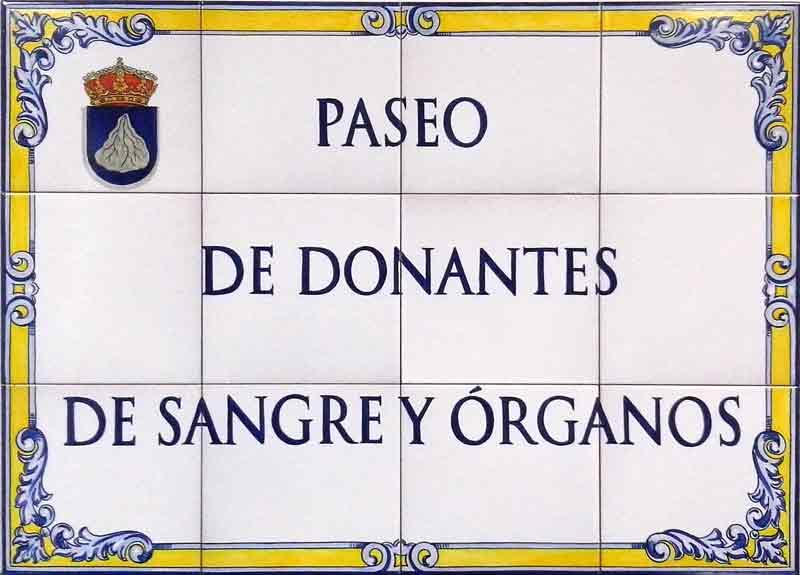 Azulejos sevillanos artesanos pintados a mano - Cerámicas Artesur - Donantes de órganos