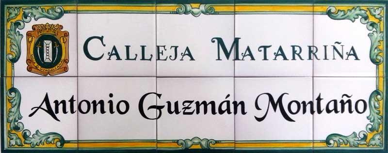 Azulejos sevillanos artesanos pintados a mano - Cerámicas Artesur - Guadalcanal - Sevilla