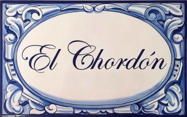 Azulejos artesanos pintados a mano en el estilo sevillano - Artesur - Azulejos para casas - Villa paraíso - 601-B